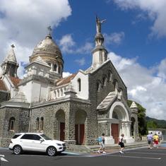 Martinique - church