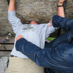 Hey, I kissed the Blarney Stone and I didn't cheat neither like everyone else