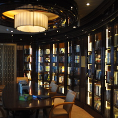 Library on Royal Princess