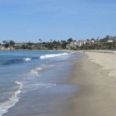 Santa Barbara, California - Santa Barbara Beach