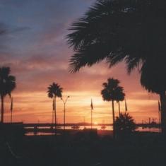 Ensenada, Mexico - Ensenada Sunset