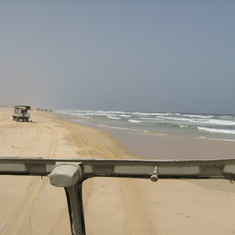 Thousands of miles of these beaches in West Africa