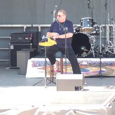 Greg Lake of Emerson Lake & Palmer on Moody Blues Cruise