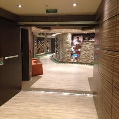 MSC Divina - Spa Hallway