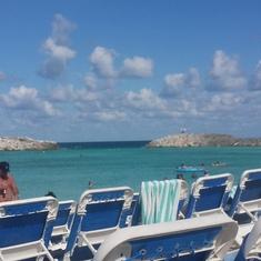 Great Stirrup Cay (Cruiseline Private Island), Bahamas - Beautiful beach day!
