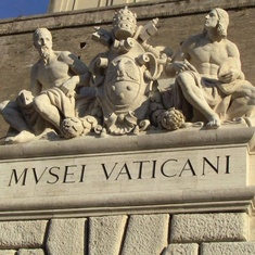 Civitavecchia (Rome), Italy - Entrance to Vatican Museum
