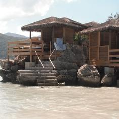 Labadee (Cruiseline Private Island) - Private cabanas