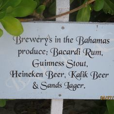 Half Moon Cay, Bahamas (Private Island) - Love the signs around on Half Moon Cay