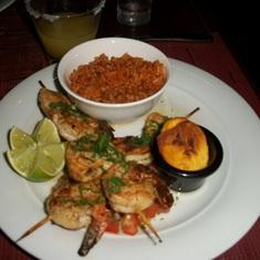 Great meal at Mambo's