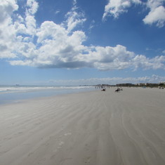 Beach at Cape Canaveral,