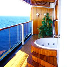 Ponta Delgada, Azores - Penthouse Balcony Whirl Pool