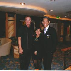 San Pedro (Los Angeles), California - Staff of the Golden Princess