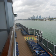 Promenade Deck View from Cabin