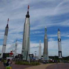 Rocket Garden KSP