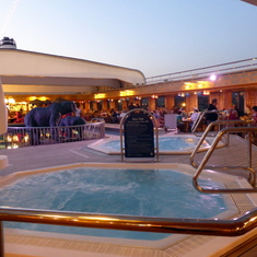 Whirlpools on Lido Deck 8