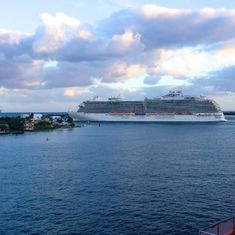 Royal Princess leaving Port Everglades