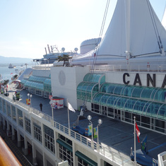 Canada Place, Cruise Port, Vancouver, B.C., May 2014