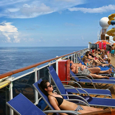 Lido Deck Relaxation