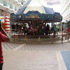 carousel on ship