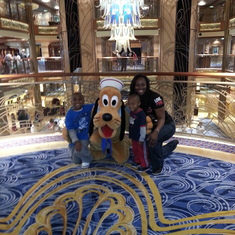 Picture with Pluto