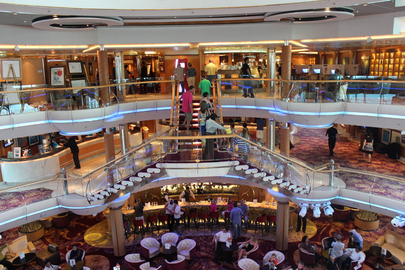 Picture Of Lobby Enchantment Of The Seas
