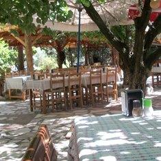 Bizim Ev restaurant near Sirince, Turkey
