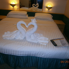 it so cute how they know when your on a honeymoon :)