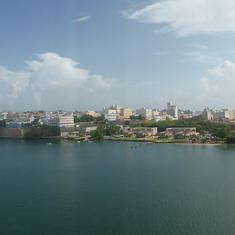 View of San Juan From Ship