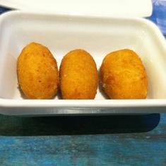 Croquettes at Casa Guinart restaurant