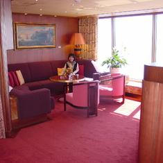 Seattle, Washington - Penthouse Living Room