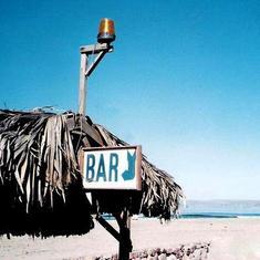 Ensenada, Mexico - Ensenada on the beach