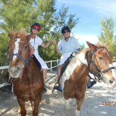 Half moon cay horse riding