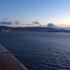 Piraeus (Athens), Greece - Approaching Greece