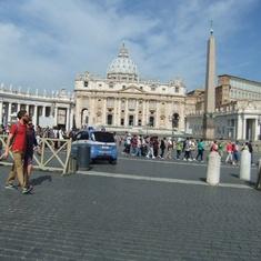 Civitavecchia (Rome), Italy - St Peter's Basilica