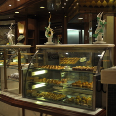 Coffee shop on Royal Princess