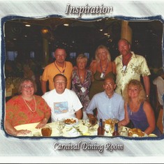 Friends we met on the cruise