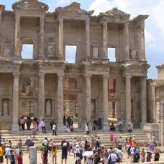 Kusadasi (Ephesus), Turkey - The Library