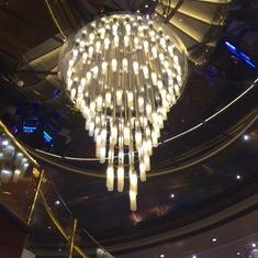 Light Fixture in Casino