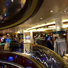 The Princess Cruises-branded Shop