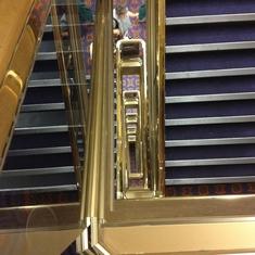 stairway looking down... long way down