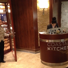Quantum of the Seas Coastal Kitchen