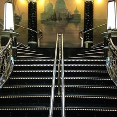 MSC Divina - Casino Staircase