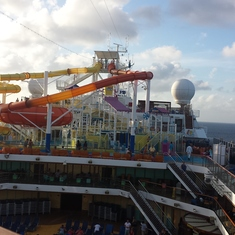 View from deck 12.