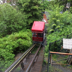 Funicular in Ketchikan,