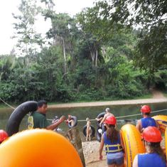 Belize City, Belize - Cave Tubing in Belize