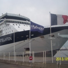 Constellation at Le Havre