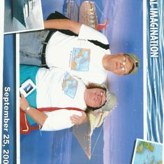 Nassau, Bahamas - Bill and I