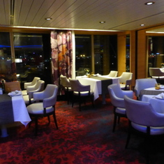 Inside the Canaletto Specialty Restaurant - Lido Deck 8