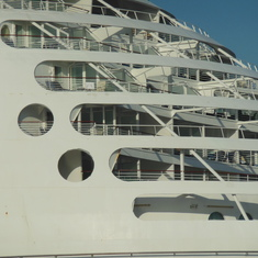 Aft superstructure