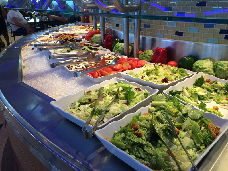 Photo Of Carnival Ecstasy Cruise On May 12 2014 Lido Buffet